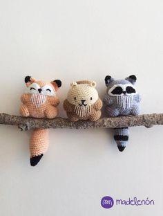 Mi Bosque - patrón $ #amigurumi #crochet