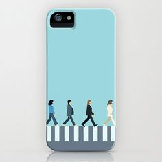 The Beatles iPhone & iPod Case by Victor Trovo Afonso - $35.00
