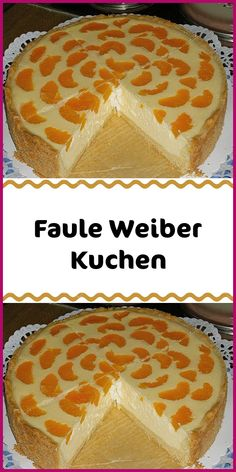 Faule Weiber Kuchen Ingredients 200 g flour 75 g sugar 1 egg (s) 75 g margarine 1 tsp baking powder For the topping: 500 g curd 2 egg (s) 140 g sugar 1 pack vanilla pudding powder 100 g sour cream 80 ml oil 240 ml milk 1 small. Can / s Mandarine (s) 1 … Flaky Pastry, Shortcrust Pastry, Savory Pastry, Choux Pastry, Red Wine Gravy, Italian Pastries, Dough Ingredients, Spice Cupcakes, Mince Pies