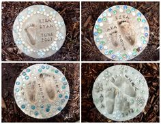 diy stepping stones | Sassy Sanctuary: Little Feet Stepping Stones