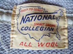 Labels – Page 4 – Ragtop Vintage Clothing Vintage Tags, Vintage Labels, Vintage Sewing, Vintage Clothing, Tag Design, Label Design, Types Of Lettering, Clothing Labels, Typography Letters