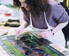 Learn how to make stained glass windows