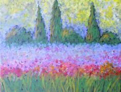 PINOT'S PALETTE STATEN ISLAND. PAINT. DRINK. HAVE FUN  Tuscan Wildflowers