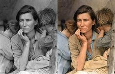 27 Photos That Have Been Recolored And Brought Back To Life (via BuzzFeed)
