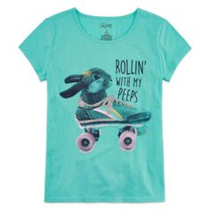 FREE SHIPPING AVAILABLE! Buy City Streets Short Sleeve T-Shirt-Big Kid Girls at JCPenney.com today and enjoy great savings.