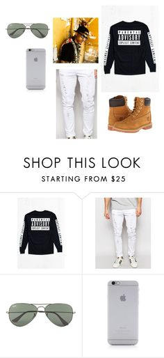 """""""August Alsina"""" by nmcdonald2020 ❤ liked on Polyvore featuring Jaded London, Ray-Ban, Native Union, Timberland, mens, men, men's wear, mens wear, male and mens clothing"""