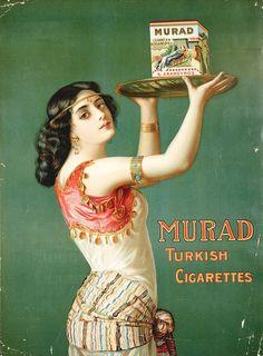 1900 Murad on green