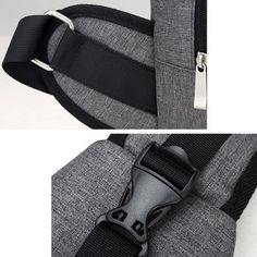 Oxford Casual Women Men Chest Bag USB Place Sling Bag Crossbody Shoulder Bag  is hot-sale fe074f239ddad