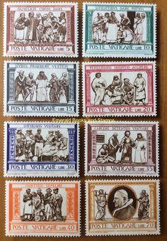 EBS Vatican City Città del Vaticano 1960 Seven Corporal Works of Mercy 284-291** in Stamps, Europe, Vatican | eBay