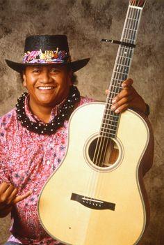 Another Hawaiian music mentor of mine uncle Ledward Kaapana!