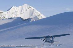 flying Alaskan style - photo by Daniel Bailey