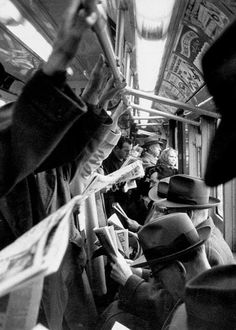 Cornell CAPA :: NYC Subway, I hope people appreciated the work photogs for life were doing. Meaningful and artistic