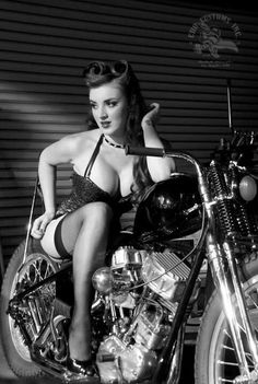 Motorcycle girl photography http://modera.co/home/#contests