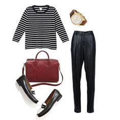 FabSugar: 3 Ways to Wear Fall's Totally Chic (and Comfy) Loose Trousers