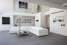 Stein Residence - modern - Living Room - Miami - Max Strang Architecture