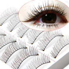10 Pairs Soft Natural Lashes