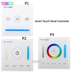 Milight P1/P2/P3 led Smart Panel Controller Dimmer Panel,RGB RGBW RGB+CCT Led Dimmer for Led Strip Light #Affiliate