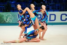 Rhythmic gymnastics groups