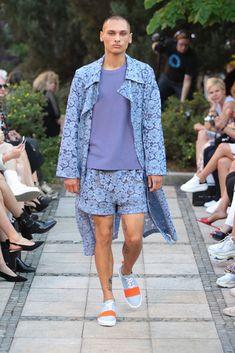 Male Fashion Trends: Marcel Ostertag Spring-Summer 2019 - Berlin Fashion Week Marcel, Male Fashion, Fashion Trends, Berlin Fashion, Lace Skirt, Spring Summer, Skirts, Trapillo, Moda Masculina