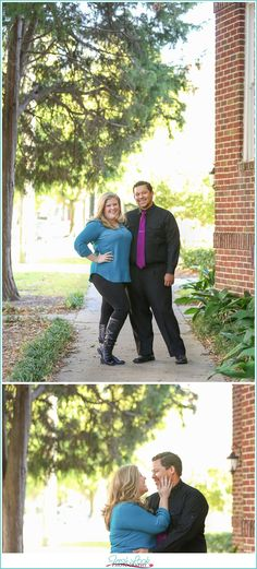 taking natural engagement portraits, genuine smiles, downtown Norfolk engagement session, couple in love, fall engagement photos, Norfolk engagement photographer, Fresh Look Photography