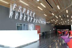 CENTRE CULTUREL_Signalétique par ateliers59, signage, design, graphic design.