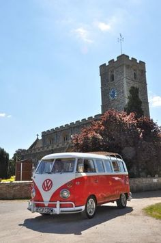 wedding vw camper #wedding #transport