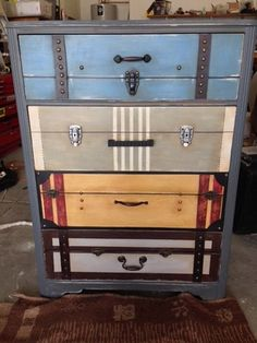 Custom Suitcase Dresser in Litchfield Park, AZ (sells for $220)