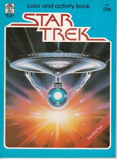 Vintage Star Trek Color And Activity Book - Far Out Fun 1979 By Merrigold Press