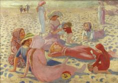 Plage au Petit Garçon, 1911