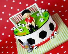 Soccer cake football futbol niño pelota