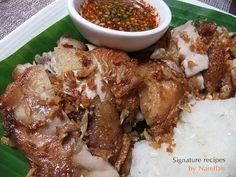 Bloggang.com : narellan : ไก่ทอด (หมัก 3 เกลอ)