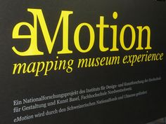 mapping the museum experience