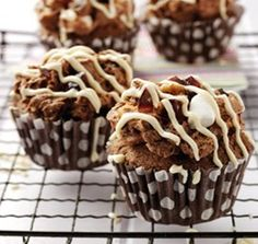 Rocky Road Cup Cakes from Baking Mad