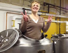 Betty Fey, of CAUTION: Brewing Company of Denver, CO.