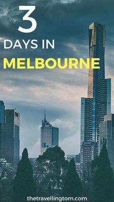 3 Days in Melbourne is a short time to see everything that the city has to offer, but it stills leave you with lots of time to see a decent smount of the city! Melbourne is one of the most beautiful cities in Australia, and well worth visiting! Check out my guide to short stay in Melbourne now!  visit Melbourne | Melbourne travel | where to go in Melbourne | places to visit in Melbourne | things to do in Melbourne | where to stay in Melbourne | Melbourne, Australia #Melbourne…