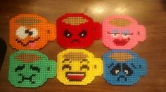 6 Coffee cup Magnets by cecrafts on Etsy