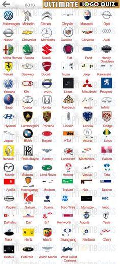 Logo Quiz Ultimate Cars