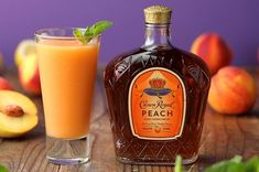 Frozen Peach Lemonade - - This sunny lemonade slushie is infused with the incomparable flavor of fresh Georgia peaches, thanks to Crown Royal Peach. It's the perfect pairing for all your summer plans! Crown Drink, Crown Royal Drinks, Holiday Drinks, Summer Drinks, Fun Drinks, Party Drinks, Beverages, Cocktails, Cocktail Drinks
