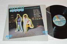 MIAMI VICE TV Show Soundtrack LP 1985 MCA Record VG+ Glenn Frey Phil Collins+ #TVScoreSoundtrack