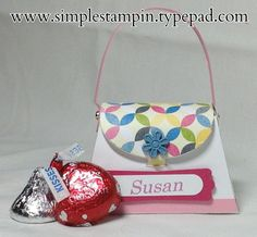 Petite Purse Bigz L~Stampin' Up! Created by Susan Itell, Independent Stampin' Up! Demonstrator www.simplestampin.com