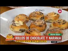 Receta dulce: rollos de chocolate y naranja - YouTube