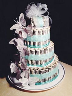 jpg The post butterfly-money-cake.jpg appeared first on Spardose ideen. Birthday Money, Birthday Photos, Birthday Gifts, Wedding Towel Cakes, Cool Wedding Cakes, Creative Money Gifts, Cool Gifts, Bride Gifts, Wedding Gifts