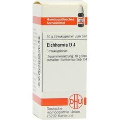 EICHHORNIA D 4 Globuli:   Packungsinhalt: 10 g Globuli PZN: 07595367 Hersteller: DHU-Arzneimittel GmbH & Co. KG Preis: 5,19 EUR inkl. 19…