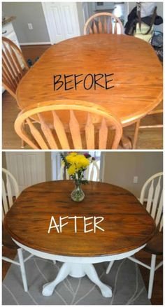 4 Enthusiastic Cool Tips: How To Do Shabby Chic Furniture shabby chic table diy. Shabby Chic Living Room, Shabby Chic Kitchen, Shabby Chic Homes, Shabby Chic Furniture, Painted Furniture, Refurbished Furniture, Repurposed Furniture, Rustic Furniture, Furniture Projects