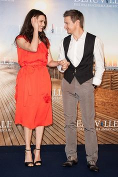 Jeremy Renner and Rachel Weisz