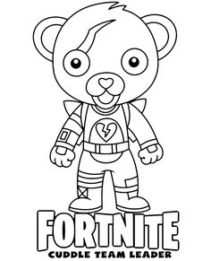 Free Marshmello Chibi Skin Fortnite Coloring Page For Kids
