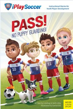 Help youth soccer players break the bee swarming kick & pack-chase mentally.