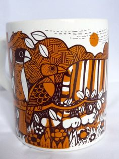 Vintage 1970s Staffordshire Potteries Tiger Mug   eBay