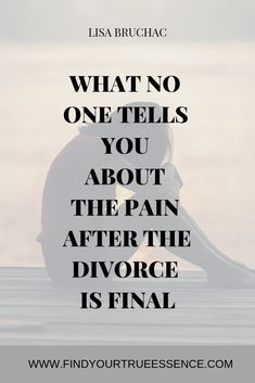 What no one tells you about the pain after divorce Getting Over Divorce, Preparing For Divorce, Getting Divorced, Dating After Divorce, Divorce Surviving, Divorce Quotes, Leadership Quotes, Teamwork Quotes, Leader Quotes