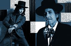 Bob Dylan and Jack White http://johannasvisions.com/jack-white-and-bob-dylan-the-connection/